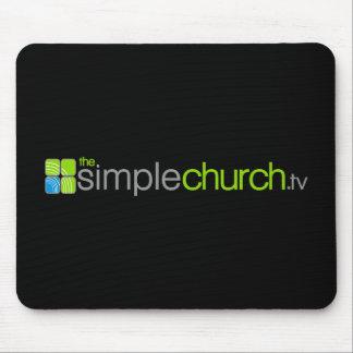 シンプルな教会マウスパッド マウスパッド