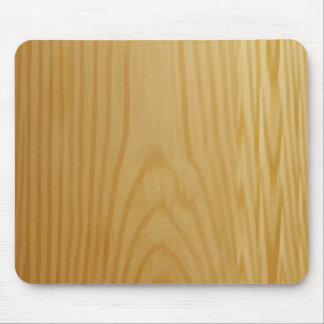 シンプルな木のマウスパッド マウスパッド