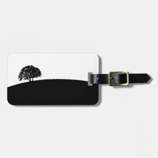 シンプルな木の荷物のラベル ラゲッジタグ
