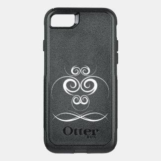 シンプルな渦巻のiPhone 7の場合 オッターボックスコミューターiPhone 8/7ケース