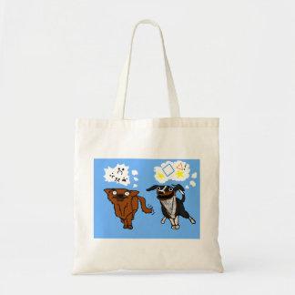 シンプルな犬および助手犬のバッグ トートバッグ