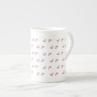 シンプルな白鳥コーヒーか茶マグ ボーンチャイナカップ
