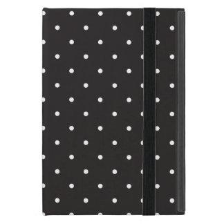 シンプルな白黒水玉模様のiPadの箱 iPad Mini ケース