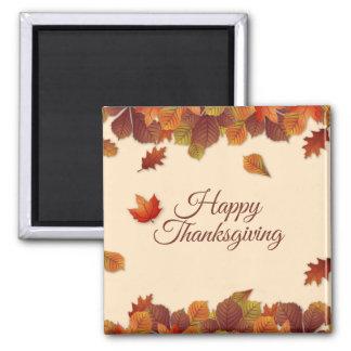 シンプルな紅葉の感謝祭|の磁石 マグネット