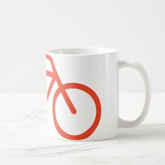 シンプルな自転車 コーヒーマグカップ