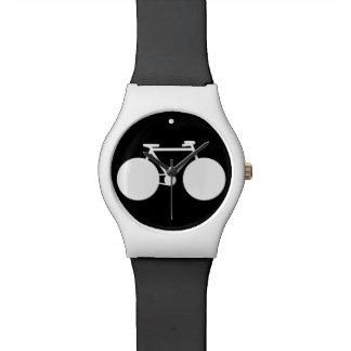 シンプルな自転車 腕時計
