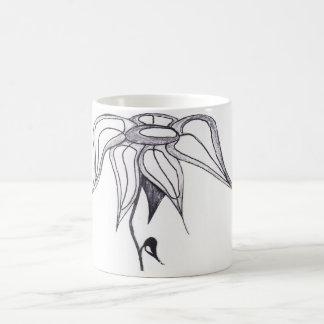 シンプルな花 モーフィングマグカップ