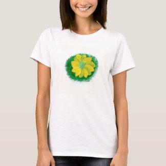シンプルな花 Tシャツ
