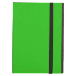 シンプルな若草色色 iPad AIRケース