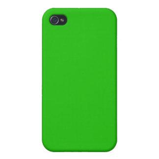シンプルな若草色色 iPhone 4 カバー