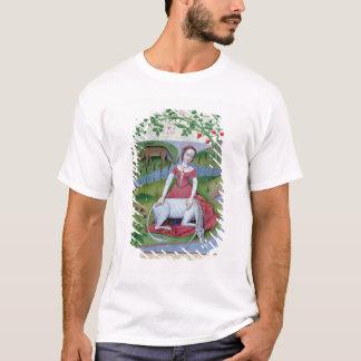 「シンプルな薬の本からのイラストレーション Tシャツ