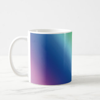 シンプルな虹のマグ コーヒーマグカップ