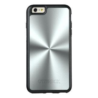 シンプルな銀製灰色の金属プリント オッターボックスiPhone 6/6S PLUSケース