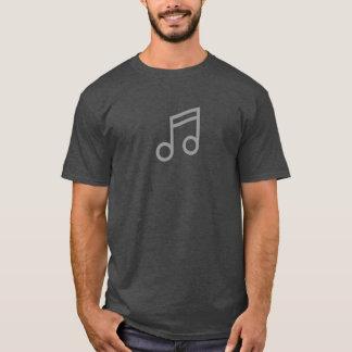 シンプルな音符アイコンワイシャツ Tシャツ