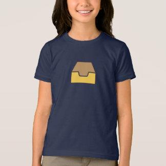 シンプルなInboxアイコンワイシャツ Tシャツ