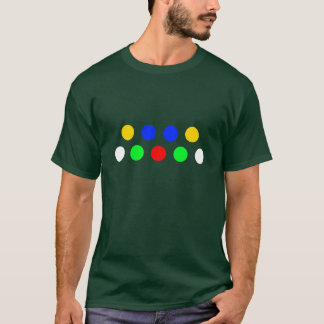 シンプルなPop'n音楽暗闇のティー Tシャツ