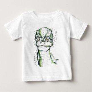 シンプルなSimona Serpenta ベビーTシャツ