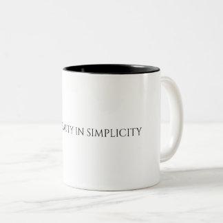 シンプルのマグの発見の美しい ツートーンマグカップ