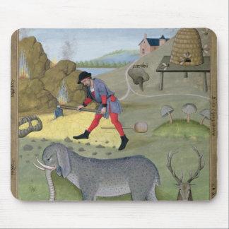 「シンプルの本からのイラストレーション マウスパッド