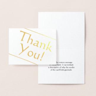 """シンプルは""""感謝していしています!"""" カード"""