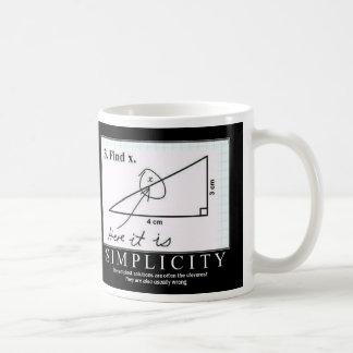 シンプル: コーヒーマグカップ
