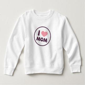 シンプルI愛お母さんの母の日|のスエットシャツ スウェットシャツ