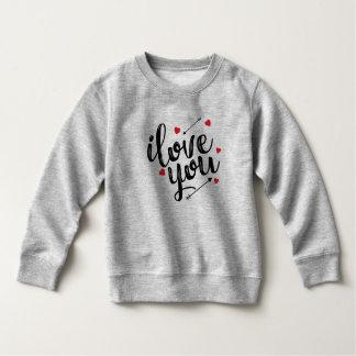 シンプルI愛バレンタイン のスエットシャツ スウェットシャツ