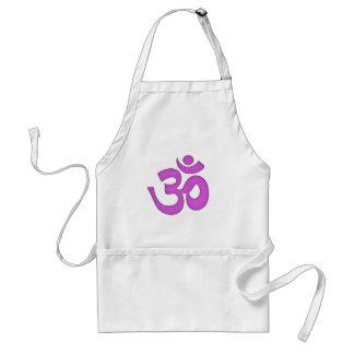 シンプルomの、信念sanskrit、オウムヨガ、タントラ教 スタンダードエプロン