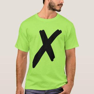 シンプルx_2 tシャツ