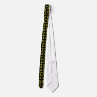 シンボルや象徴黒くおよび黄色おもしろいの交通 オリジナルネクタイ