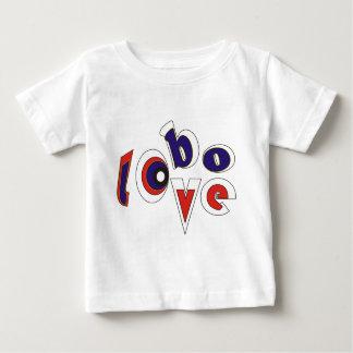 シンリンオオカミ愛 ベビーTシャツ