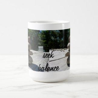 シークのバランス コーヒーマグカップ