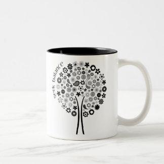 シークのバランス-木のマグ ツートーンマグカップ