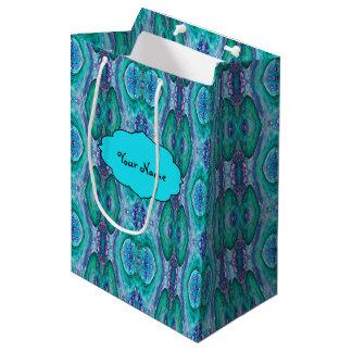 シーサーペントの抽象芸術 ミディアムペーパーバッグ