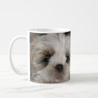 シーズー(犬)のTzuかわいい犬 コーヒーマグカップ