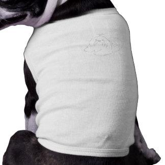 シーズー(犬)のTzuのあなた自身の衣類を絵を描いて下さい ペット服