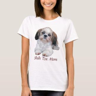 シーズー(犬)のTzuのお母さんの女性Tシャツ Tシャツ