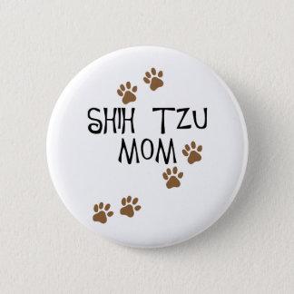 シーズー(犬)のTzuのお母さん 缶バッジ