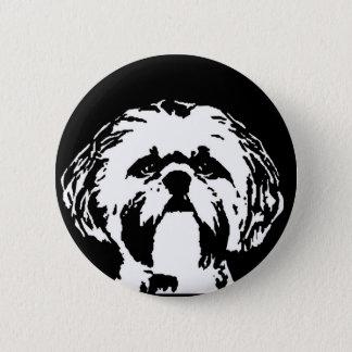 シーズー(犬)のTzuのギフト-ボタン 缶バッジ