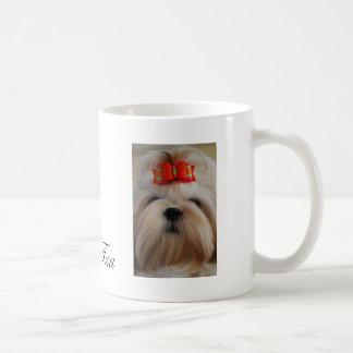 シーズー(犬)のTzuのコップかマグ コーヒーマグカップ