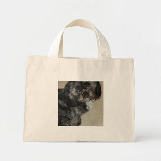 シーズー(犬)のTzuのトートバック ミニトートバッグ