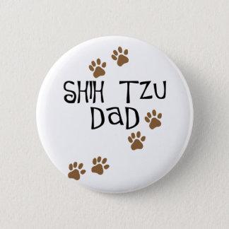 シーズー(犬)のTzuのパパ 缶バッジ
