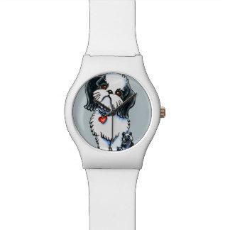 シーズー(犬)のTzuのパンダ 腕時計