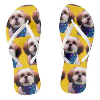 シーズー(犬)のTzuのビーチサンダル ビーチサンダル