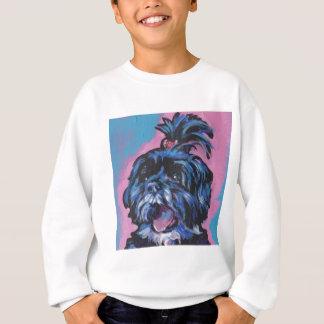 シーズー(犬)のTzuのポップアート スウェットシャツ