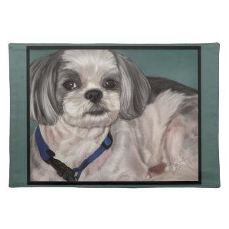 シーズー(犬)のTzuのランチョンマット ランチョンマット