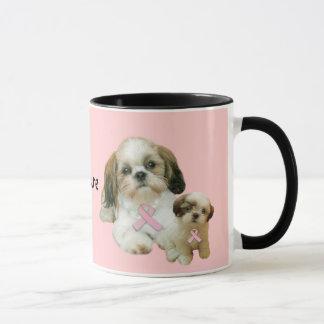 シーズー(犬)のTzuの乳癌のマグ マグカップ
