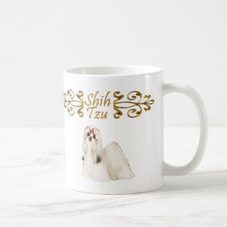 シーズー(犬)のTzuの優雅 コーヒーマグカップ