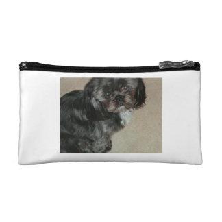 シーズー(犬)のTzuの化粧品袋 コスメティックバッグ