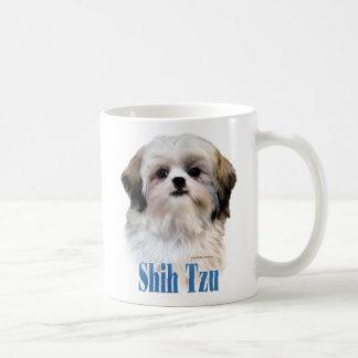 シーズー(犬)のTzuの名前 コーヒーマグカップ
